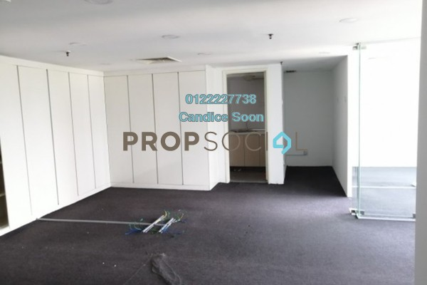 Office For Sale in Plaza 138, KLCC Freehold Semi Furnished 2R/1B 550k