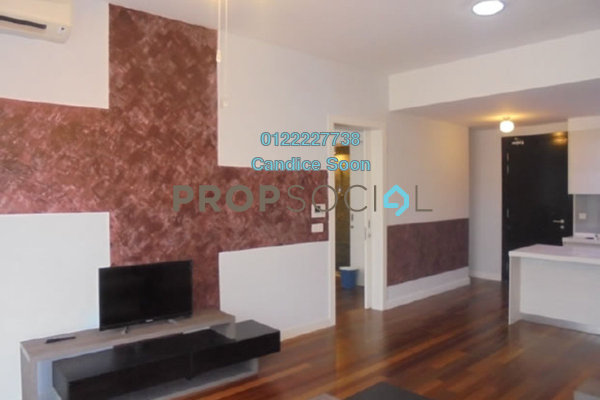 Condominium For Sale in 6 Ceylon, Bukit Ceylon Freehold Fully Furnished 1R/1B 680k