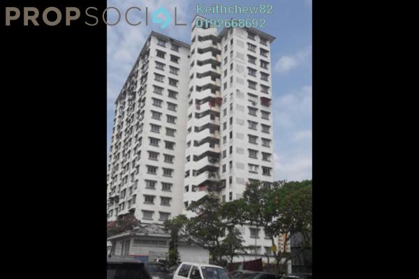 Apartment For Sale in Desa Tun Razak, Bandar Tun Razak Freehold Unfurnished 2R/1B 135k
