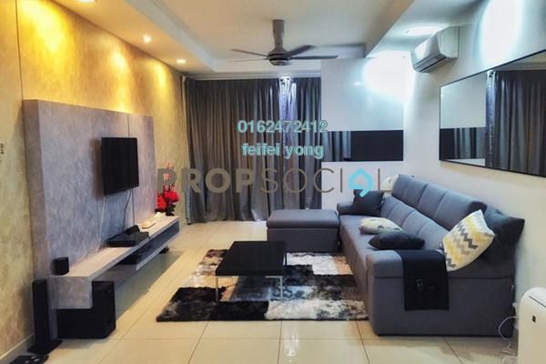 Condominium For Sale in Aston Kiara 3, Mont Kiara Freehold Fully Furnished 3R/3B 695k