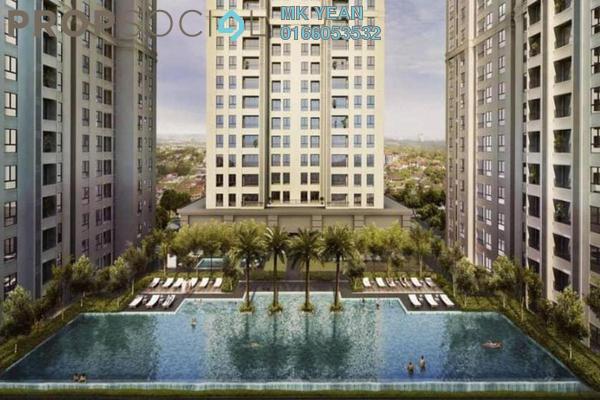 Serviced Residence For Sale in Veranda Residences, Johor Bahru Freehold Semi Furnished 3R/2B 440k
