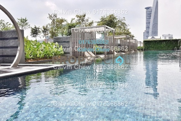 For Sale Serviced Residence at Vogue Suites One @ KL Eco City, Mid Valley City Freehold Unfurnished 2R/0B 792k