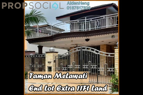 Terrace For Sale in Taman Melawati, Skudai Freehold semi_furnished 5R/3B 630k