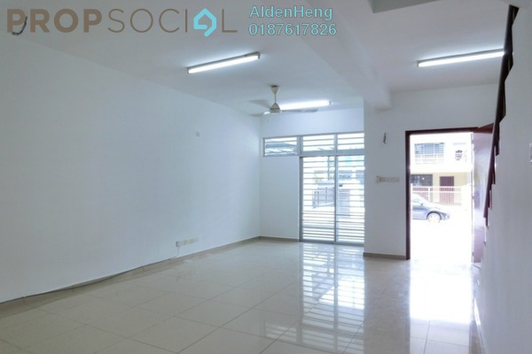 Terrace For Sale in Maya Heights, Bandar Seri Alam Freehold unfurnished 4R/3B 455k
