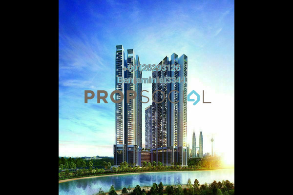 Serviced Residence For Sale in Duta Park Residences, Jalan Ipoh Freehold Semi Furnished 2R/2B 544k