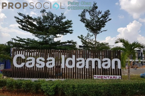 Bungalow For Sale in CasaIdaman, Setia Alam Freehold Unfurnished 6R/6B 1.8m