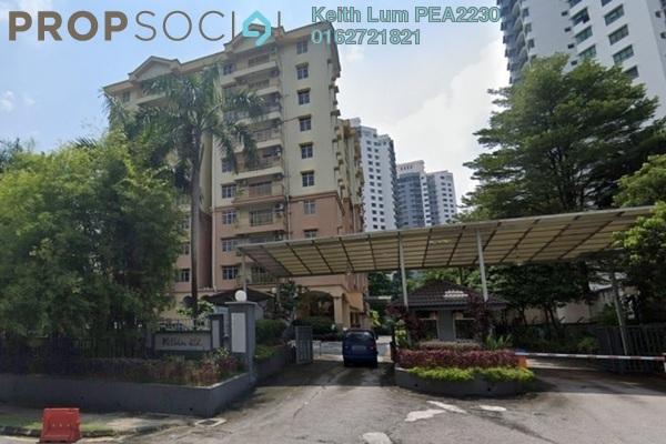 For Rent Condominium at Prima Ria, Dutamas Freehold Fully Furnished 3R/2B 1.8k
