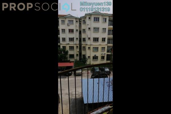 Apartment For Sale in Taman Setia Jaya, Rawang Freehold Unfurnished 3R/2B 113k