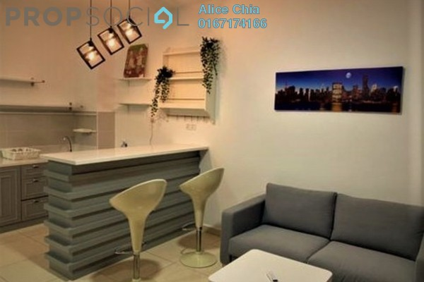 Serviced Residence For Rent in The Garden Residences, Skudai Freehold Fully Furnished 1R/1B 1.3k