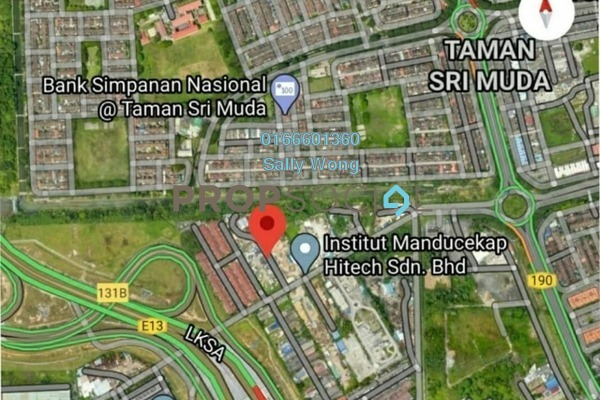 For Sale Land at Taman Sri Muda, Shah Alam Freehold Unfurnished 0R/0B 8.82m
