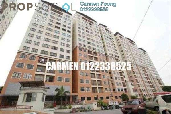 Condominium For Rent in Glen View Villa, Cheras Freehold Semi Furnished 3R/2B 1k