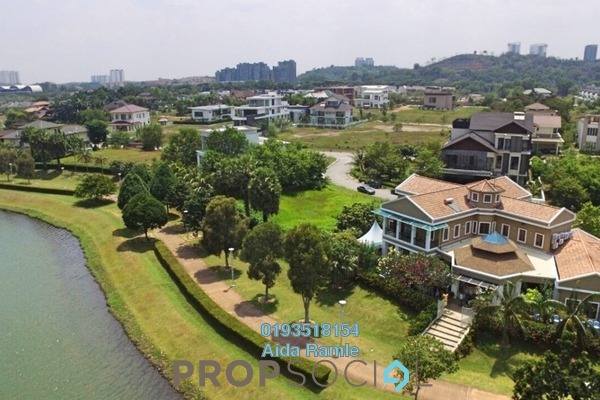 Bungalow For Sale in Perdana Lakeview East, Cyberjaya Freehold Fully Furnished 4R/5B 7m