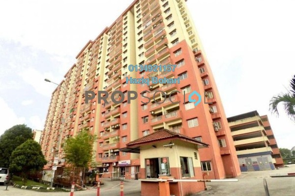 Apartment For Rent in Sri Cempaka Apartment, Kajang Freehold Semi Furnished 3R/2B 850translationmissing:en.pricing.unit