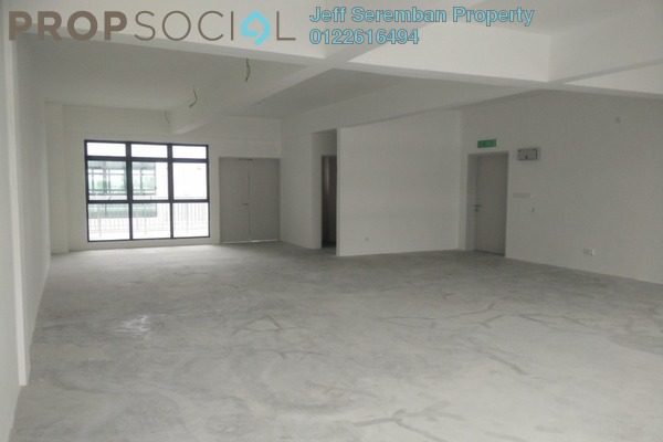 For Rent Office at Oakland Commercial Centre, Seremban Freehold Unfurnished 0R/2B 1.1k