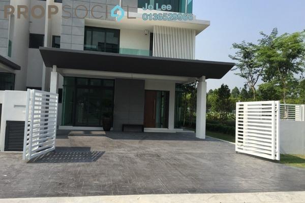 Semi-Detached For Sale in Alamaia Homes, Kota Kemuning Freehold Unfurnished 6R/6B 2.4m