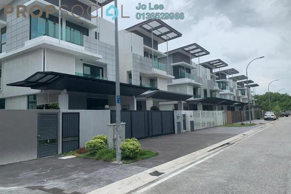 Semi-Detached For Sale in Alamaia Homes, Kota Kemuning Freehold Unfurnished 6R/7B 1.8m