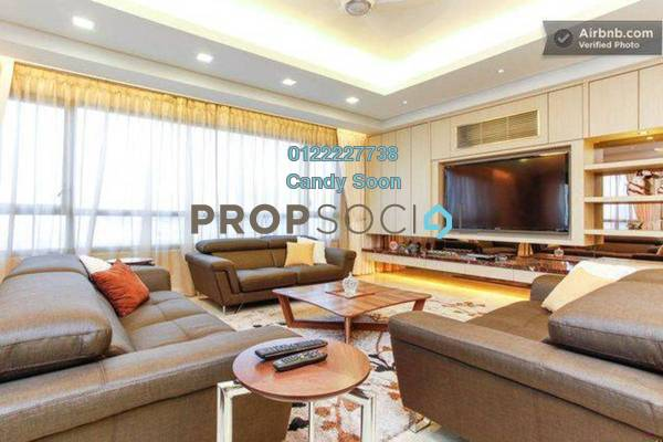 For Rent Condominium at The CapSquare Residences, Dang Wangi Freehold Fully Furnished 6R/6B 7.5k