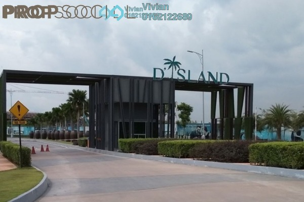 For Sale Land at D'Island, Puchong Freehold Unfurnished 0R/0B 2.23m