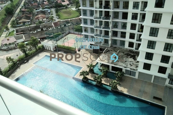 Condominium For Sale in The Platino, Skudai Freehold Semi Furnished 3R/2B 580k