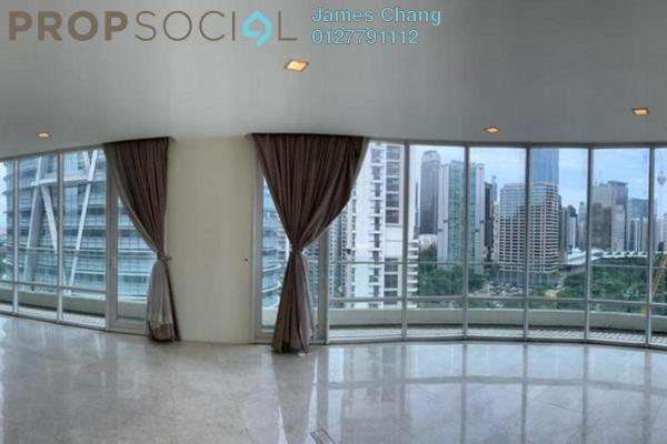 Condominium For Rent in The Oval, KLCC Freehold Fully Furnished 4R/4B 8k