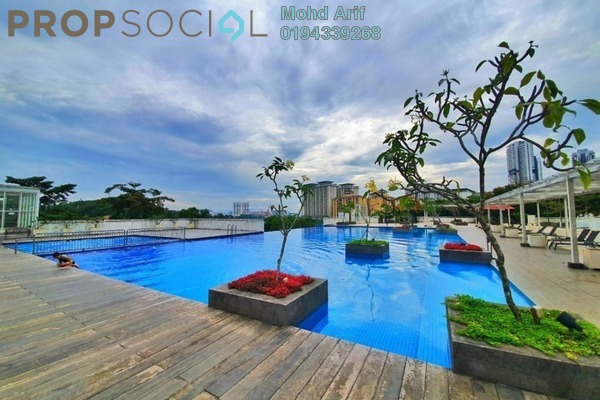 Condominium For Sale in 3 Residen, Melawati Freehold Semi Furnished 3R/2B 580k