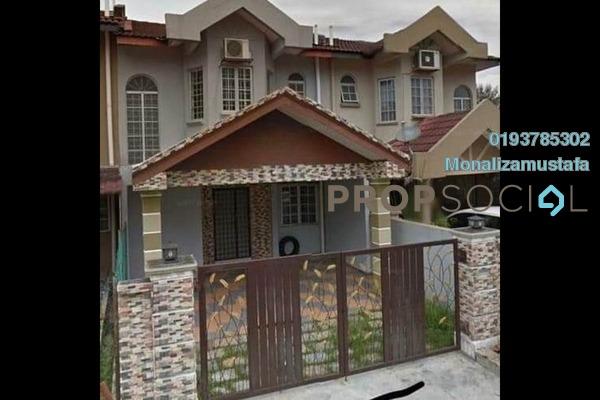Terrace For Sale in Sunsuria Avenue, Kota Damansara Freehold Semi Furnished 4R/3B 755k