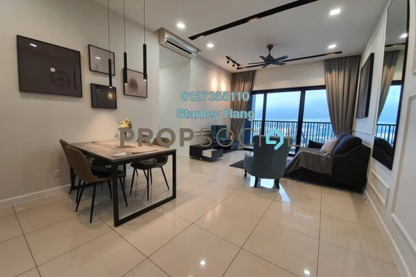 For Rent Condominium at Le Pavillion, Bandar Puteri Puchong Freehold Fully Furnished 3R/2B 3.3k