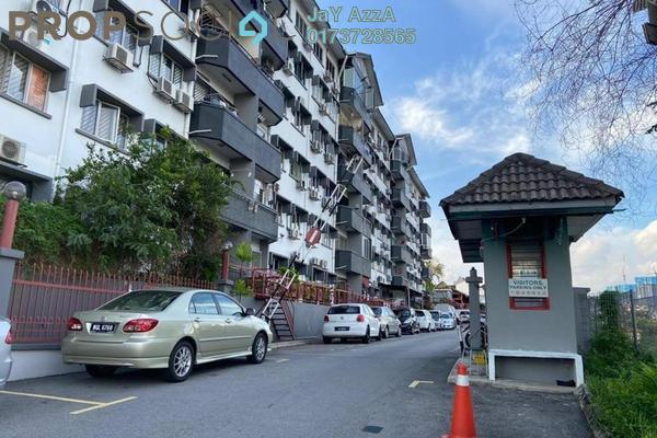 Apartment For Sale in Villa Mewah Apartment, Salak South Freehold Unfurnished 3R/2B 350k