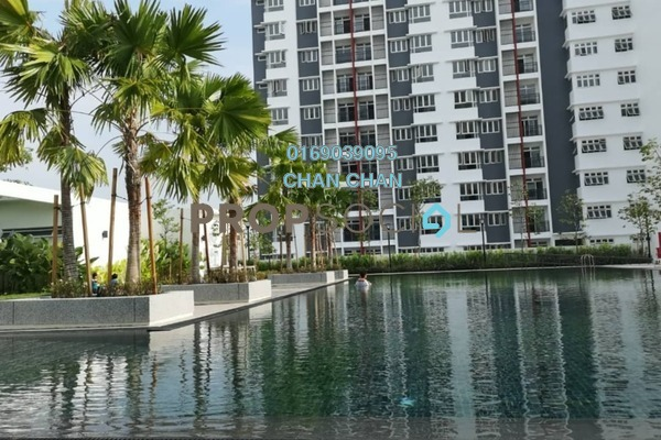 Condominium For Rent in Kalista Residence, Seremban 2 Freehold semi_furnished 3R/2B 1k