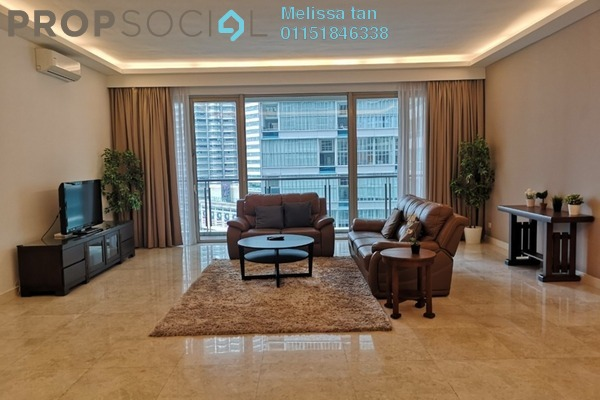 For Rent Serviced Residence at Marc Service Residence, KLCC Freehold Semi Furnished 4R/4B 15k