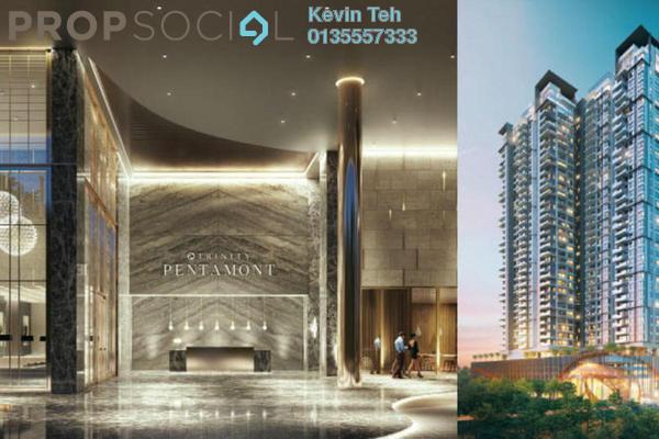 Condominium For Sale in Trinity Pentamont, Mont Kiara Freehold Semi Furnished 4R/4B 1.44m