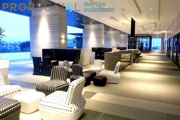 Condominium For Sale in The Elements, Ampang Hilir Freehold Semi Furnished 2R/2B 696k