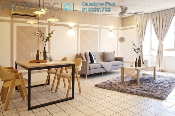 Condominium For Rent in Faber Heights, Taman Desa Freehold Fully Furnished 2R/2B 1.8k