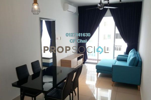 Condominium For Sale in The Aliff Residences, Johor Bahru Freehold Fully Furnished 1R/1B 275k