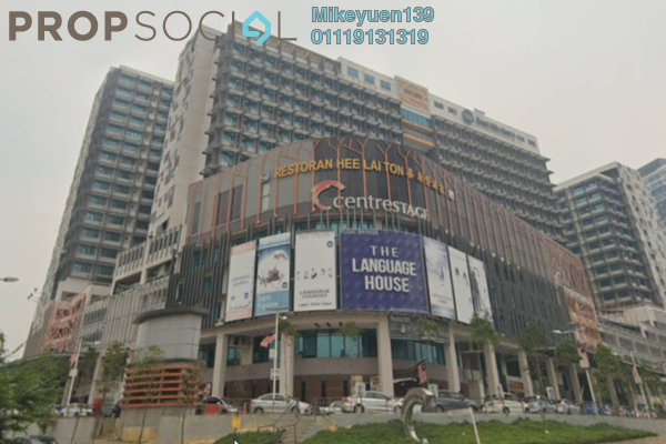 Condominium For Sale in Centrestage, Petaling Jaya Freehold Semi Furnished 2R/1B 295k