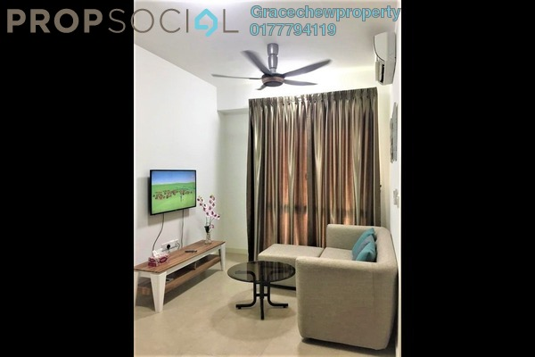 Serviced Residence For Rent in Afiniti, Medini Freehold Fully Furnished 0R/1B 1.3k