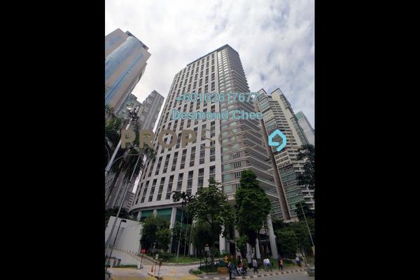 Pejabat Untuk disewa di  Ascott Kuala Lumpur, KLCC Freehold Fully Furnished 0R/0B 64.7Ribu
