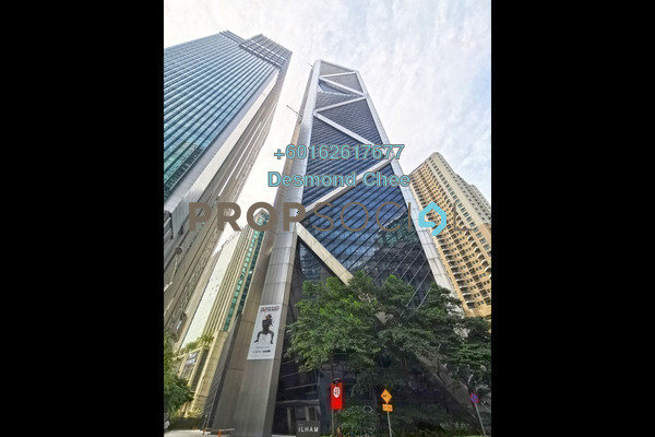 Office For Rent in Ilham Baru Tower, KLCC Freehold Fully Furnished 0R/0B 68.2k