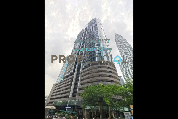 Office For Rent in Menara TA One, KLCC Freehold Fully Furnished 0R/0B 14.2k