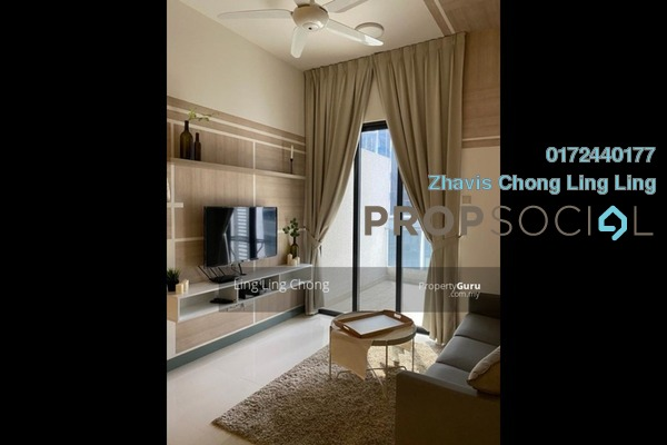 Serviced Residence For Rent in South View, Bangsar South Freehold Fully Furnished 2R/2B 2.7k