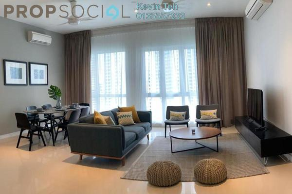 For Rent Condominium at Pavilion Hilltop, Mont Kiara Freehold Fully Furnished 3R/2B 5.2k