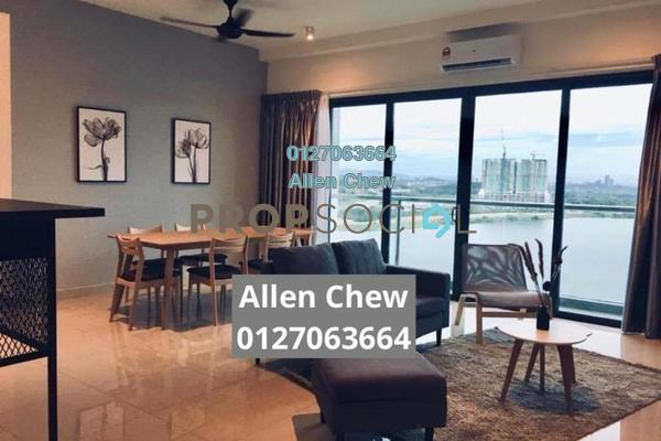 Condominium For Rent in D'Island, Puchong Freehold Fully Furnished 3R/2B 2.2k