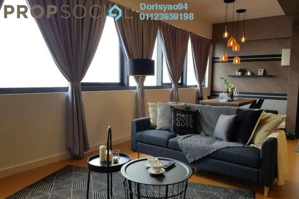Condominium For Sale in Seri Hening Residence, Ampang Hilir Freehold Semi Furnished 3R/3B 546k