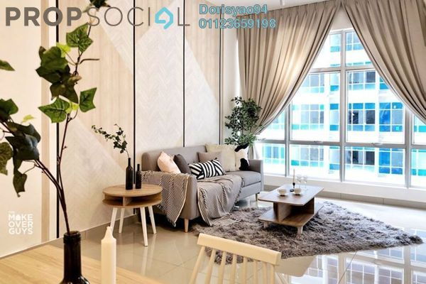 Condominium For Sale in Ampang 971, Ampang Hilir Freehold Semi Furnished 3R/3B 597k