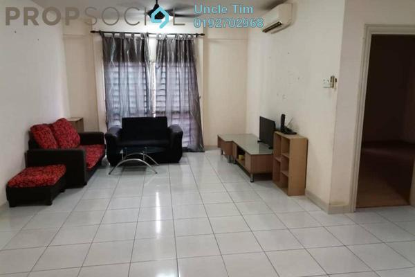 Serviced Residence For Rent in Pelangi Damansara Sentral, Mutiara Damansara Freehold Semi Furnished 1R/1B 1.3k