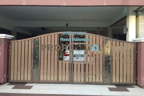 Terrace For Sale in Taman Bukit Emas, Senawang Freehold Semi Furnished 4R/3B 420k
