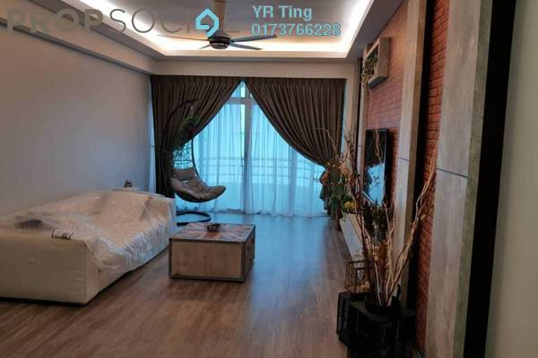 Condominium For Rent in Kota Laksamana, Bandar Melaka Freehold Fully Furnished 3R/2B 2.5k
