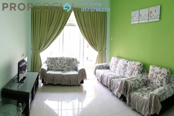 Condominium For Rent in Taman Kerjasama, Bukit Beruang Freehold Fully Furnished 3R/2B 1.1k