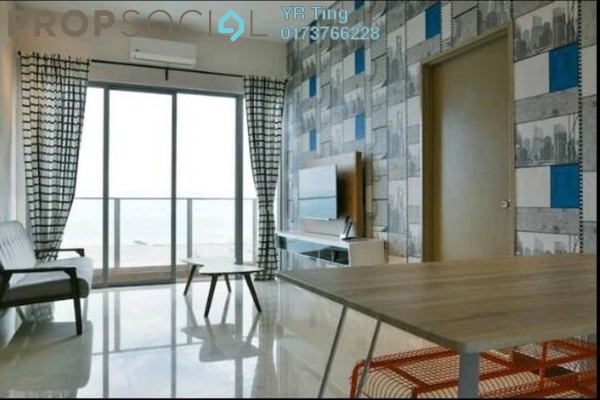 Condominium For Rent in Silverscape @ Hatten City, Bandar Melaka Freehold Fully Furnished 4R/3B 2.1k