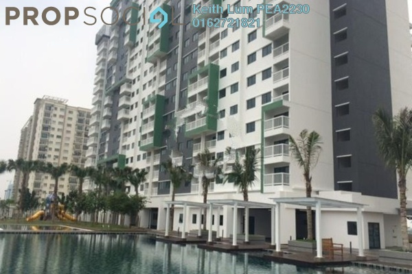 For Rent Condominium at Alam Sanjung, Shah Alam Freehold Fully Furnished 3R/2B 1.8k